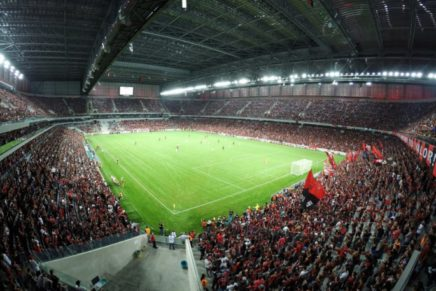 Através de decreto, Atlético quita parte das contas da Arena