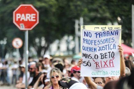 A greve é legal, ilegal é o governo