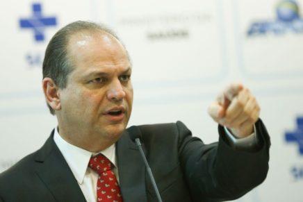 MPF pede afastamento de Ricardo Barros do Ministério da Saúde