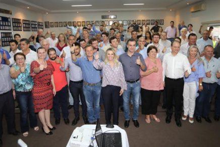 Governadora Cida Borghetti  com 30 prefeitos do Noroeste