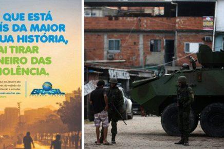 Temer paga Globo em campanha sobre intervenção