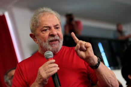 """""""Estou pronto para ser preso"""", diz Lula"""