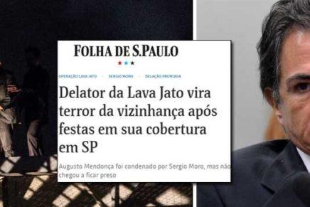 Com Lula preso, delator dá festas em cobertura de 565 metros quadrados