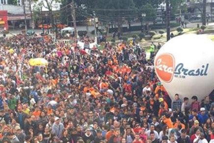 Marcha para Jesus vai tomar conta das ruas do centro de Curitiba neste sábado