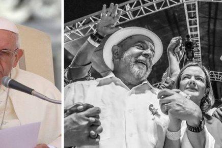 Papa condena golpes forjados pela mídia