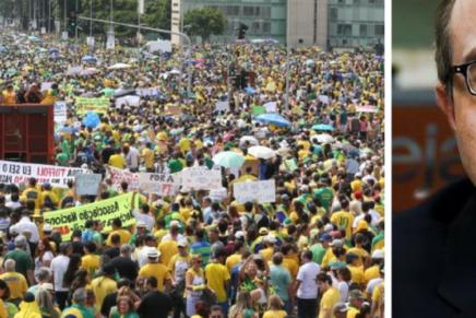 Reinaldo Azevedo: a direita fez um trabalho porco