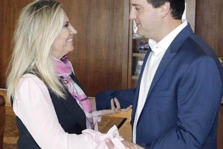 Ratinho Jr pede a Cida antecipação da transição no governo