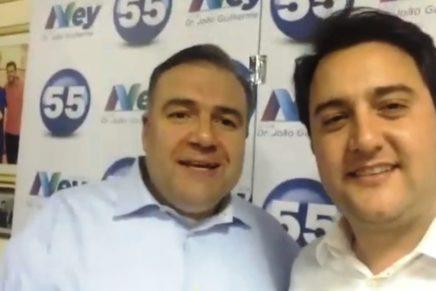 Ratinho Jr anuncia Ney Leprevost secretário da Justiça, Família e Trabalho