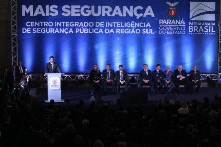 Governador destaca redução da criminalidade no Paraná
