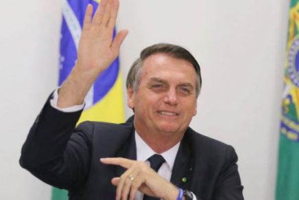 Primeira vaga no STF será de Moro, diz Bolsonaro