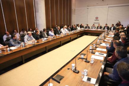 Reunião com chefes de núcleos regionais destaca trabalho integrado