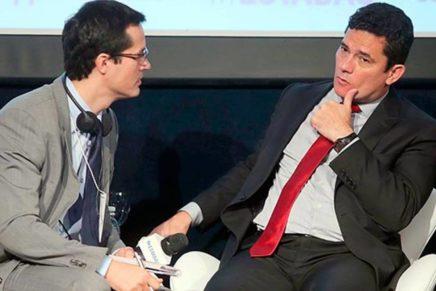 Veja as novas conversas vazadas entre Moro e Dallagnol