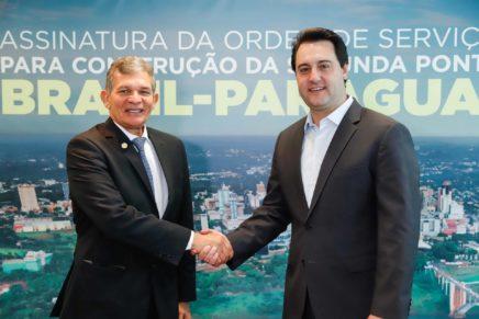 Governo e Itaipu tiram do papel a segunda ponte de Foz do Iguaçu