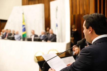 Governador destaca avanços do Paraná na abertura do ano legislativo