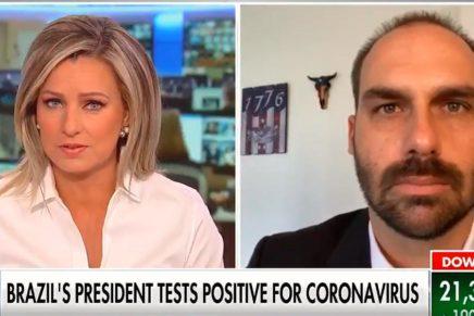 Canal americano confirma que Bolsonaro pegou coronavírus