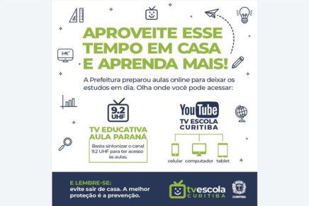 Para evitar transmissões, Curitiba prorroga suspensão das aulas