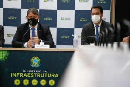 Em Brasília, Ratinho Junior defende modelo de pedágio baseado na menor tarifa